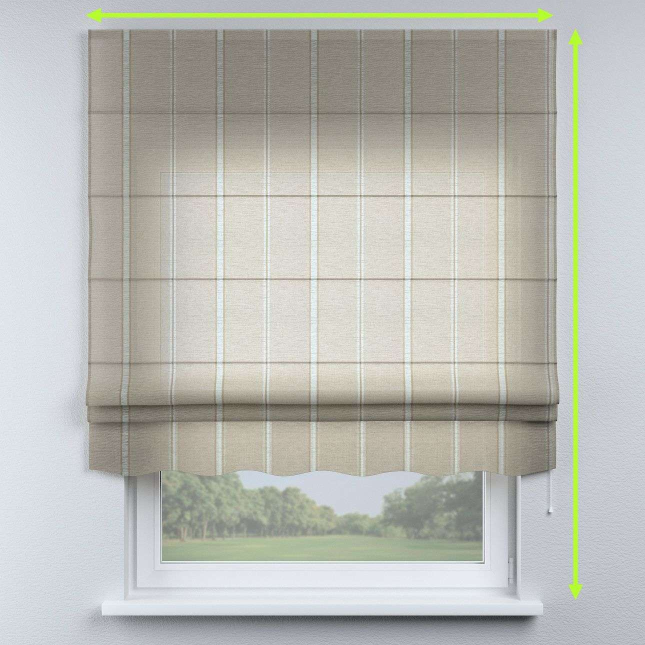 Florence roman blind  in collection Romantica, fabric: 141-32