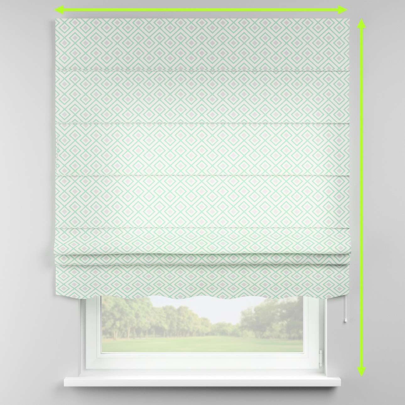 Florence roman blind  in collection Geometric, fabric: 141-45