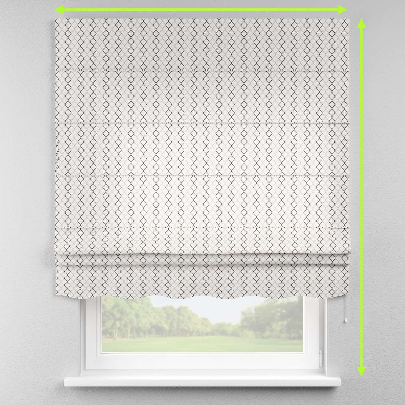 Florence roman blind  in collection Geometric, fabric: 141-46