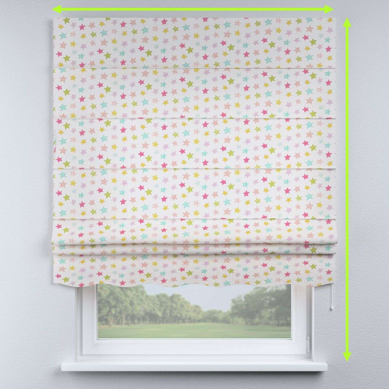 Florence roman blind  in collection Little World, fabric: 141-52