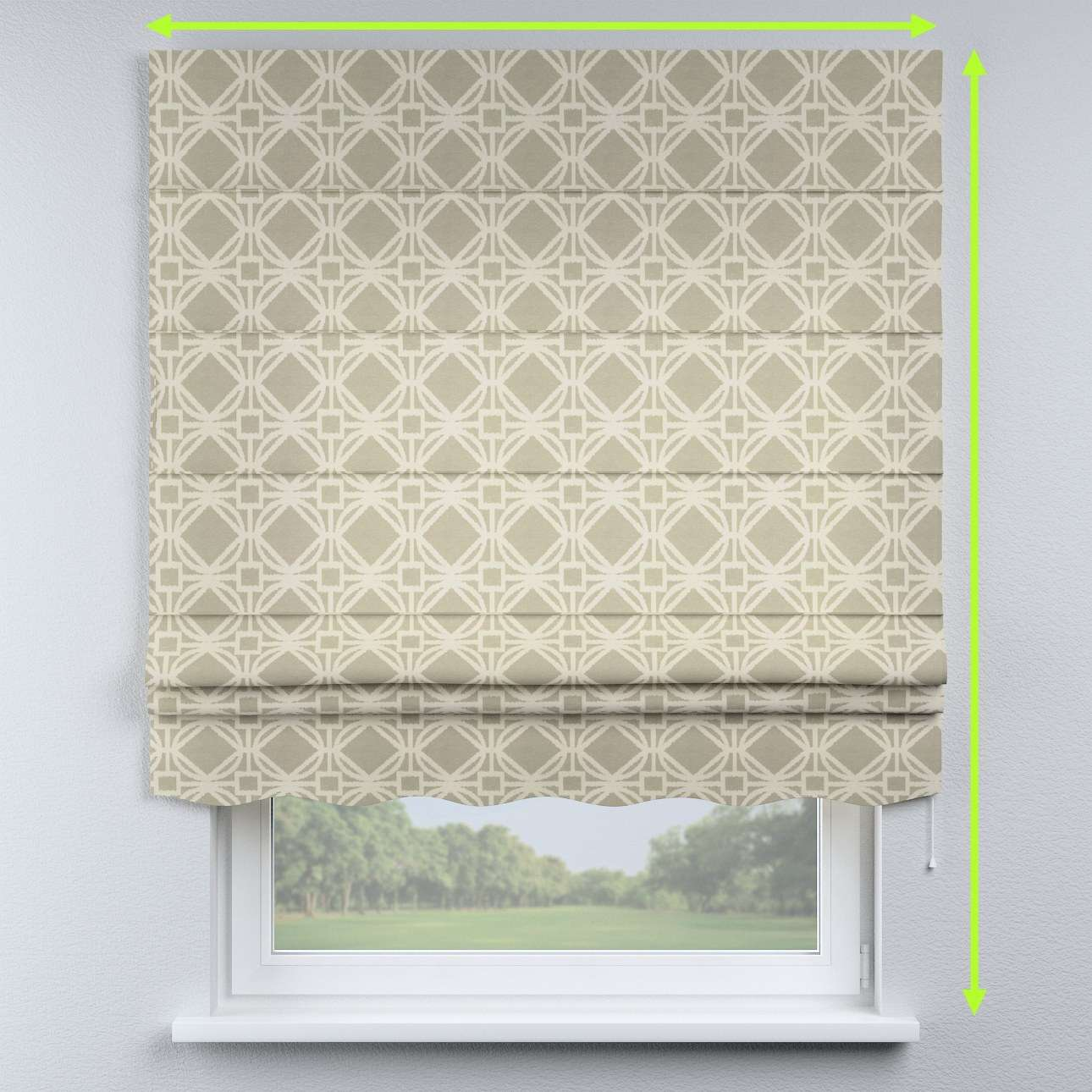 Florence roman blind  in collection Comic Book & Geo Prints, fabric: 141-56