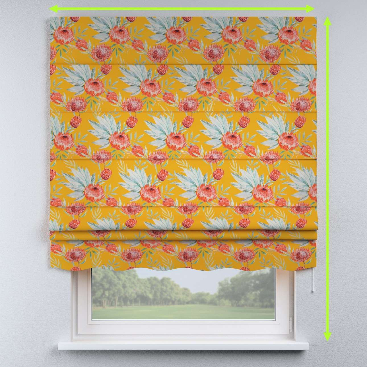 Florence roman blind  in collection New Art, fabric: 141-58