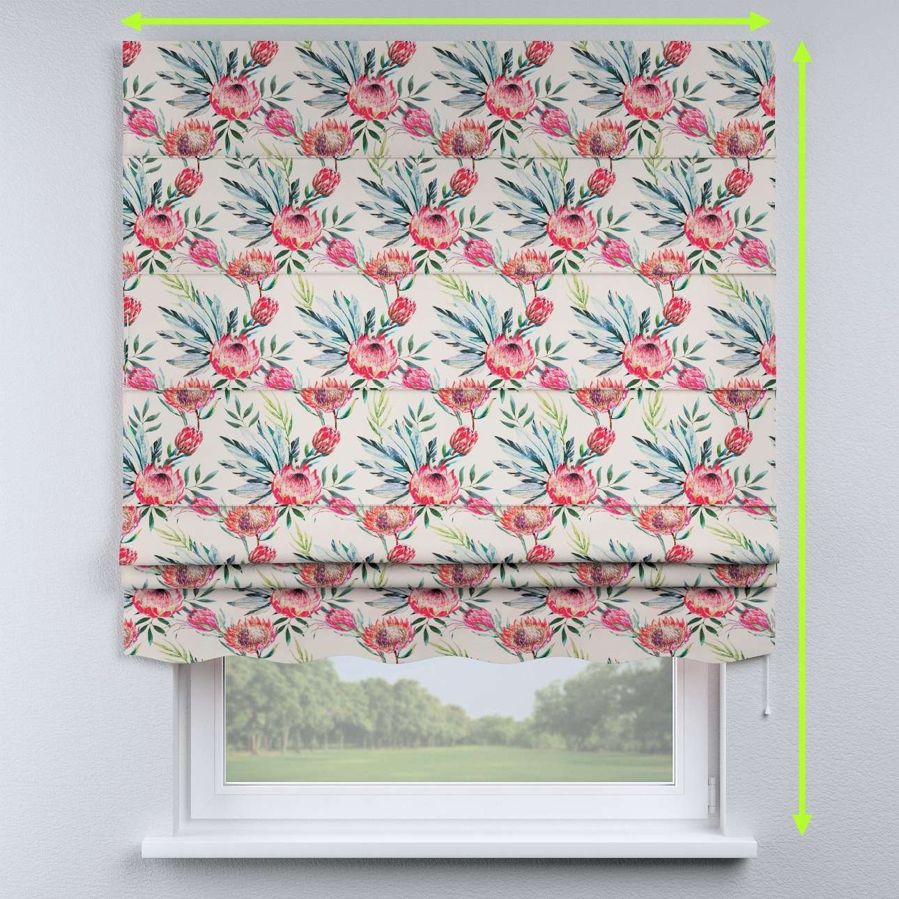 Florence roman blind  in collection New Art, fabric: 141-59
