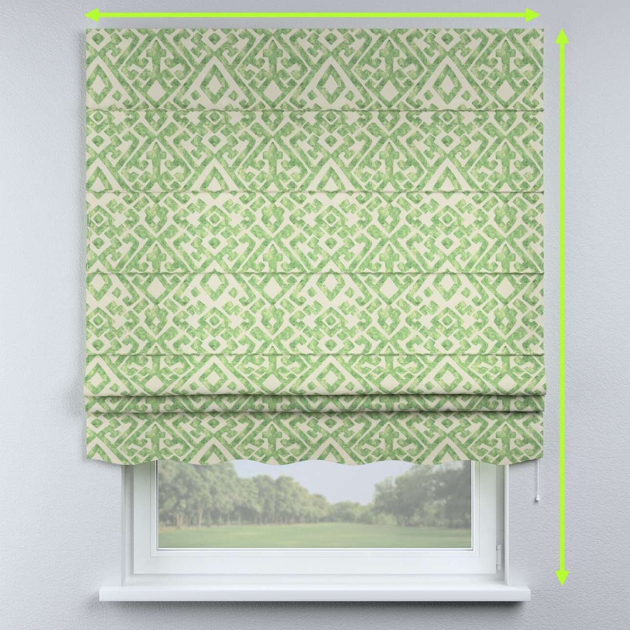 Florence roman blind  in collection Urban Jungle, fabric: 141-62