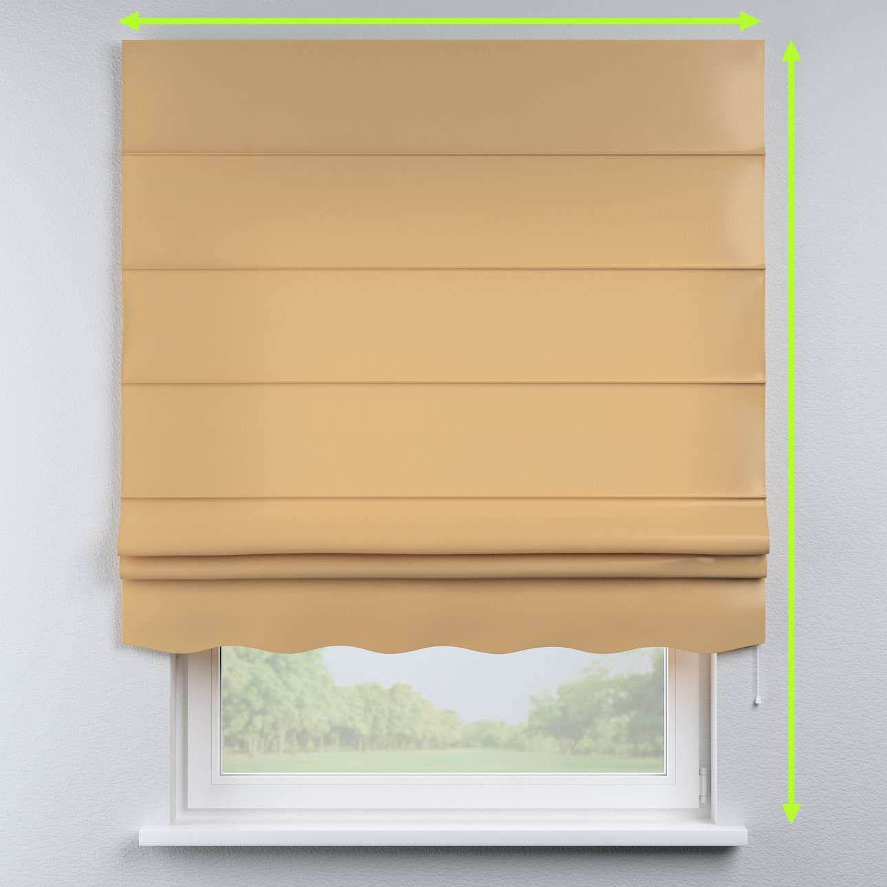 Florence roman blind  in collection Damasco, fabric: 141-75