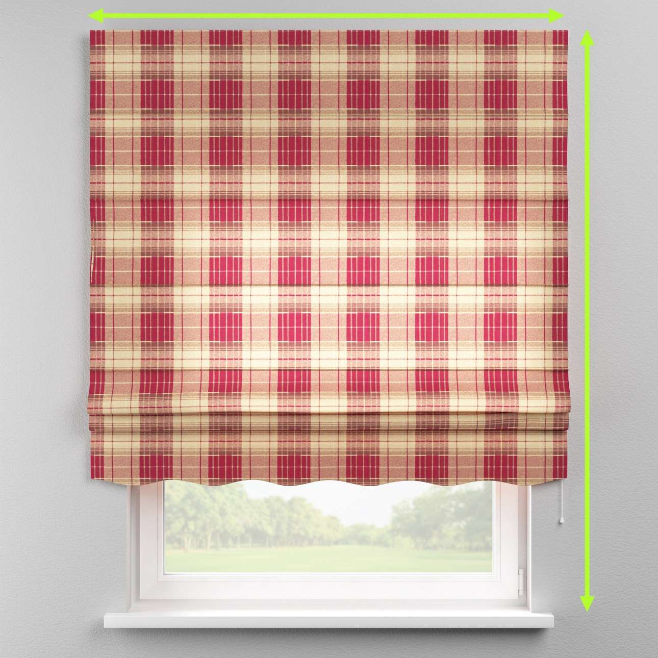 Florence roman blind  in collection Mirella, fabric: 142-06