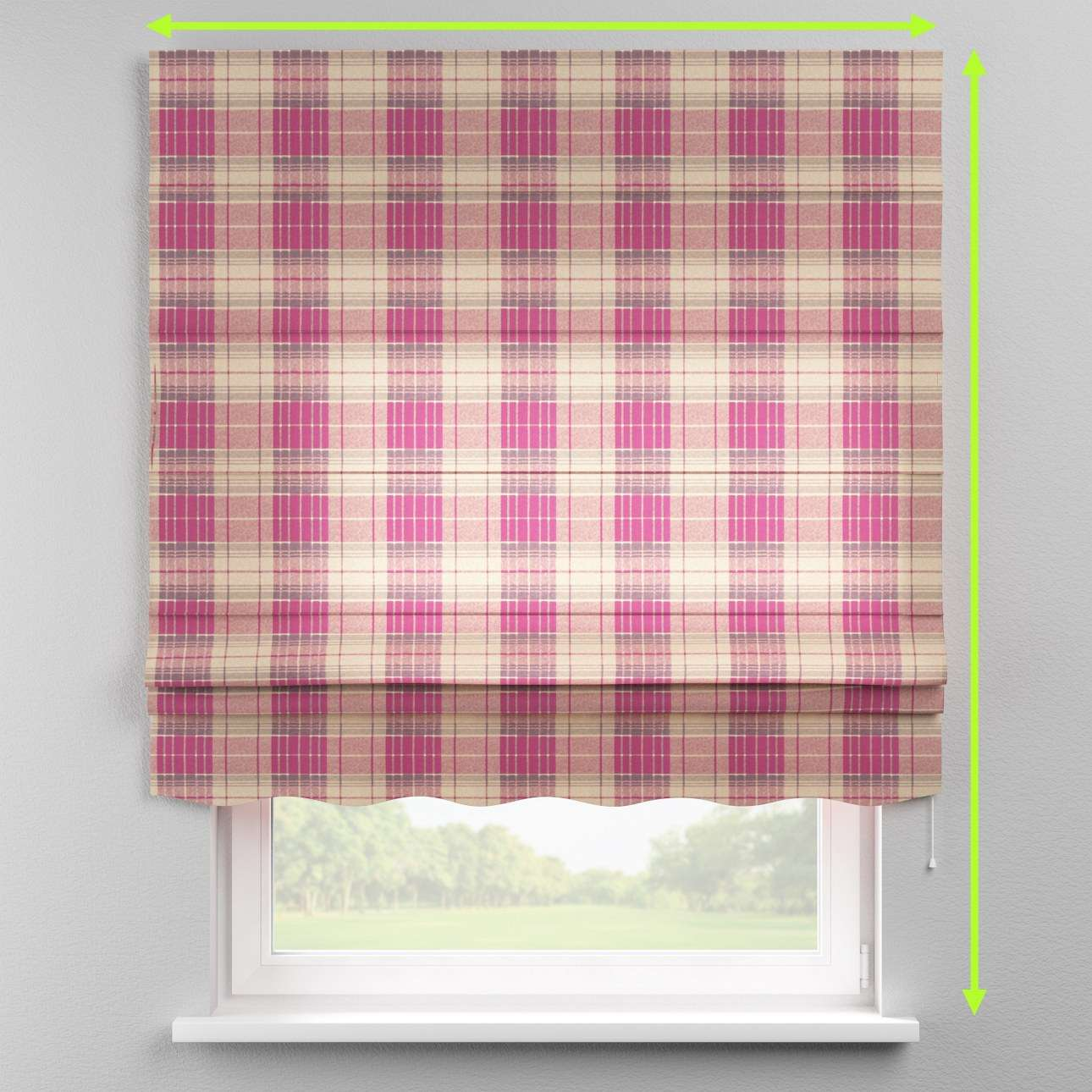 Florence roman blind  in collection Mirella, fabric: 142-07