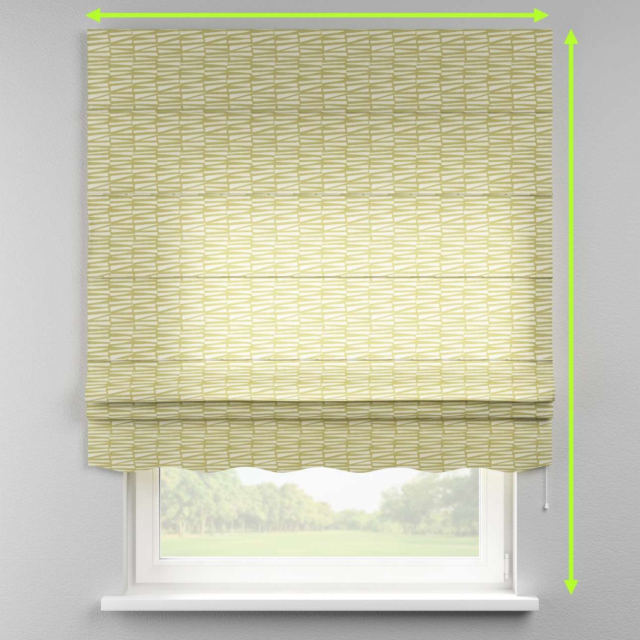 Florence roman blind  in collection Norge, fabric: 150-09