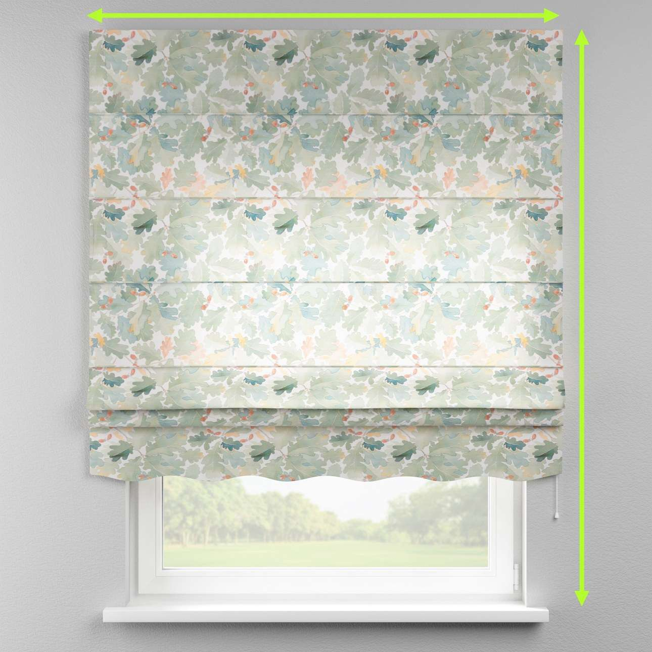 Florence roman blind  in collection Norge, fabric: 150-17
