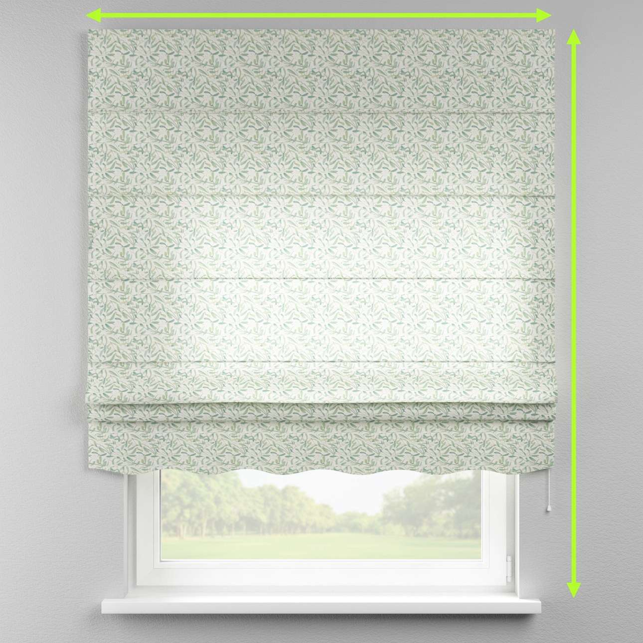 Florence roman blind  in collection Norge, fabric: 150-19