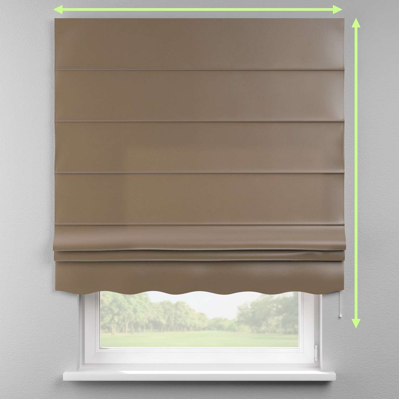 Florence roman blind  in collection Milano, fabric: 150-39