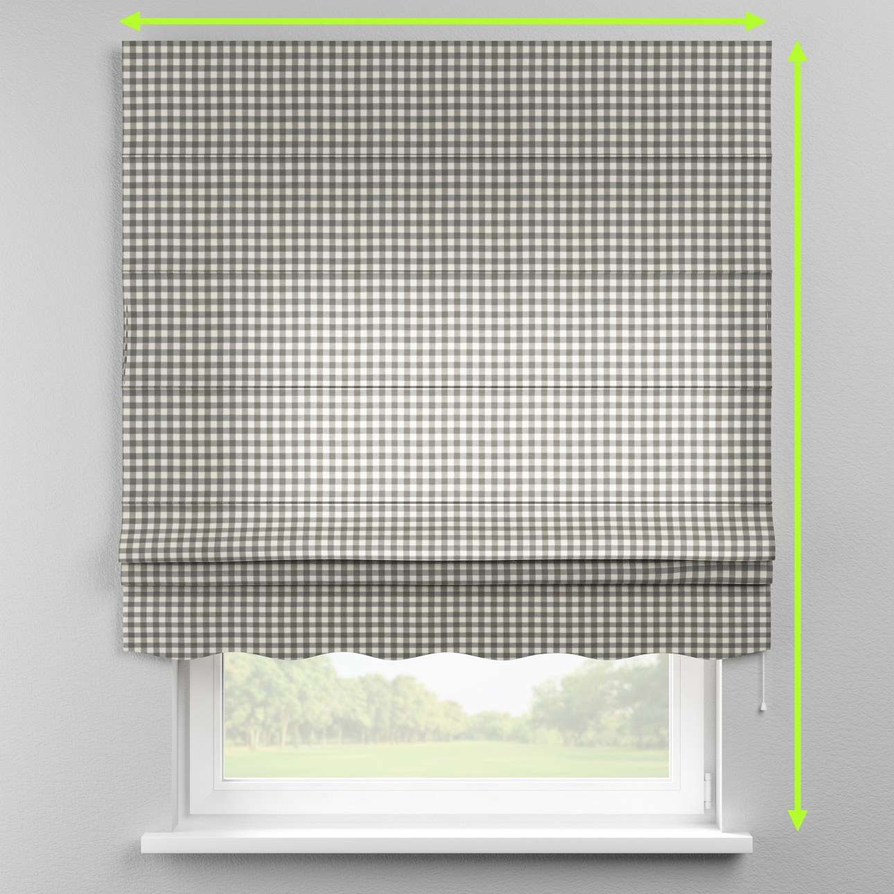 Florence roman blind  in collection Quadro, fabric: 136-11