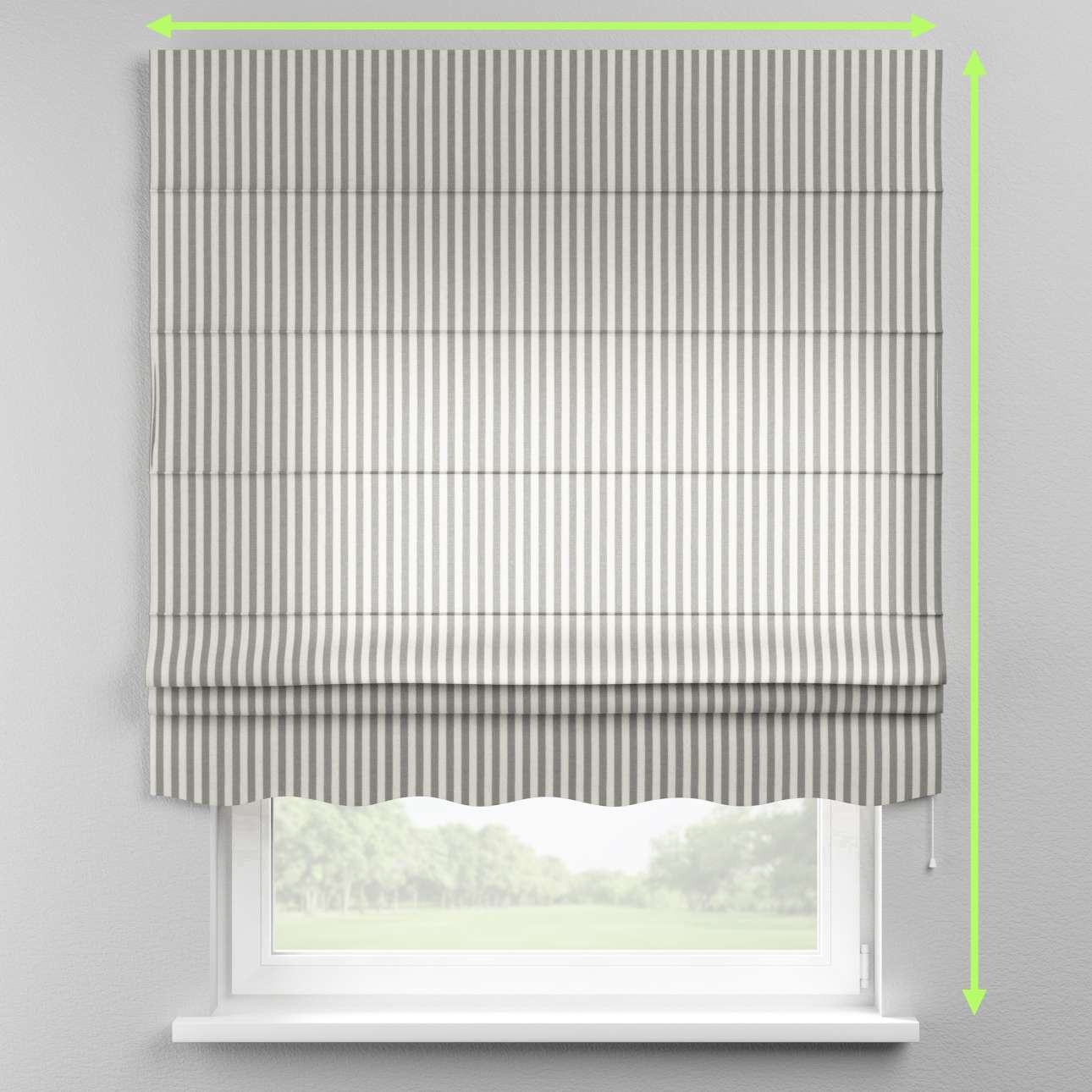 Florence roman blind  in collection Quadro, fabric: 136-12
