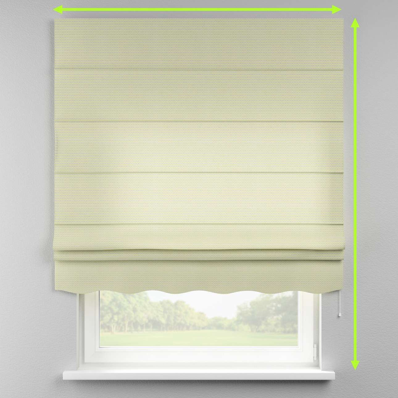 Florence roman blind  in collection Rustica, fabric: 140-34