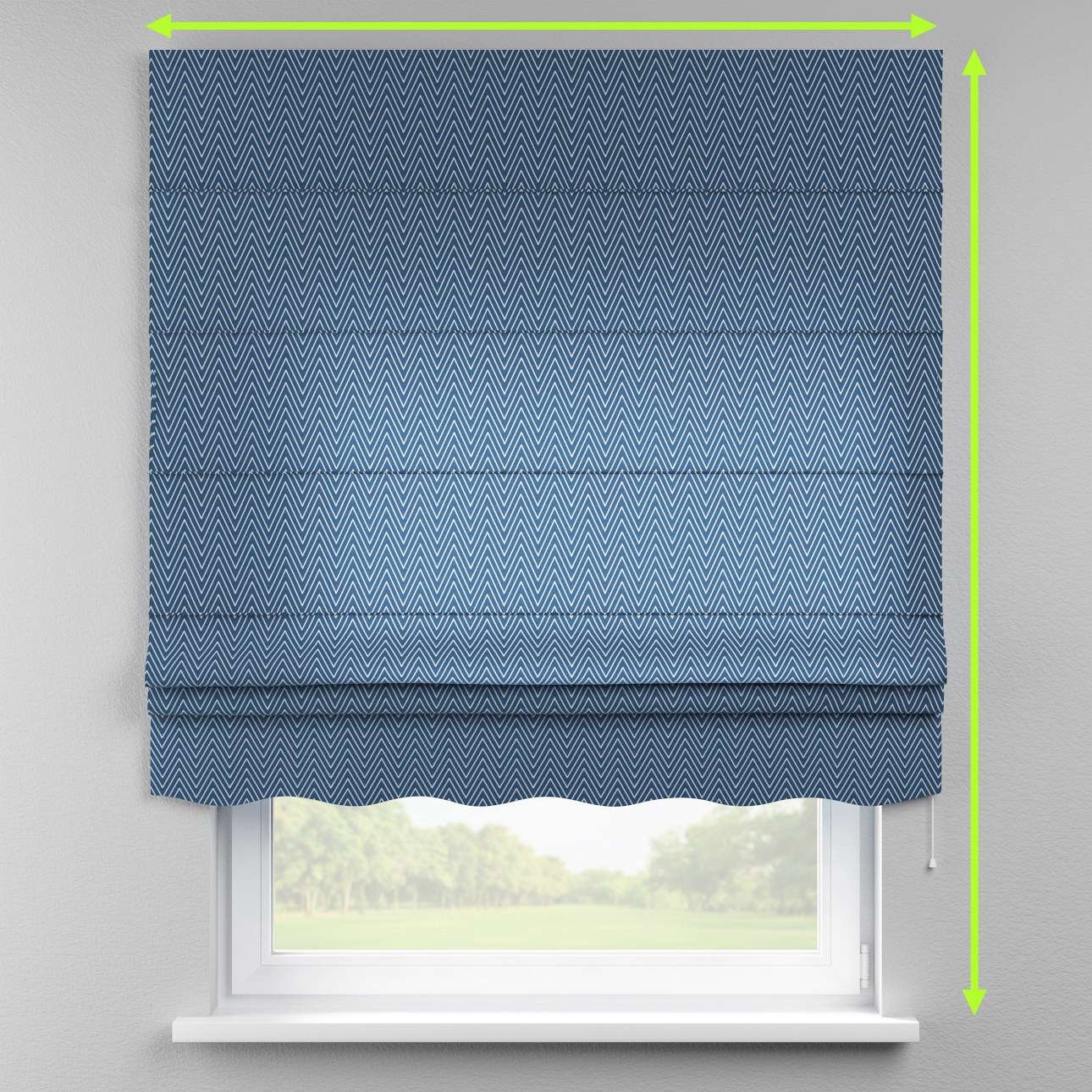 Florence roman blind  in collection Brooklyn, fabric: 137-88