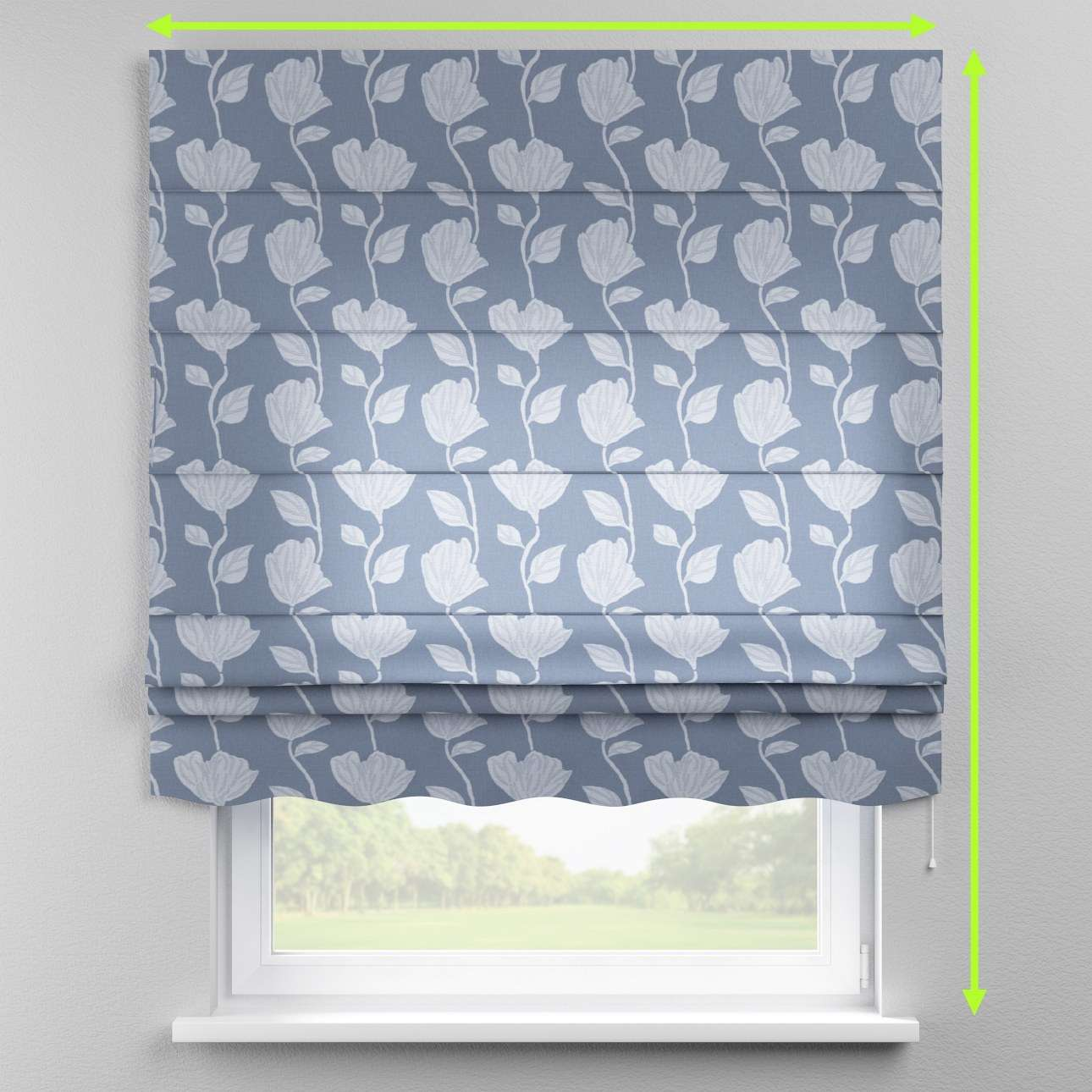 Florence roman blind  in collection Venice, fabric: 140-61