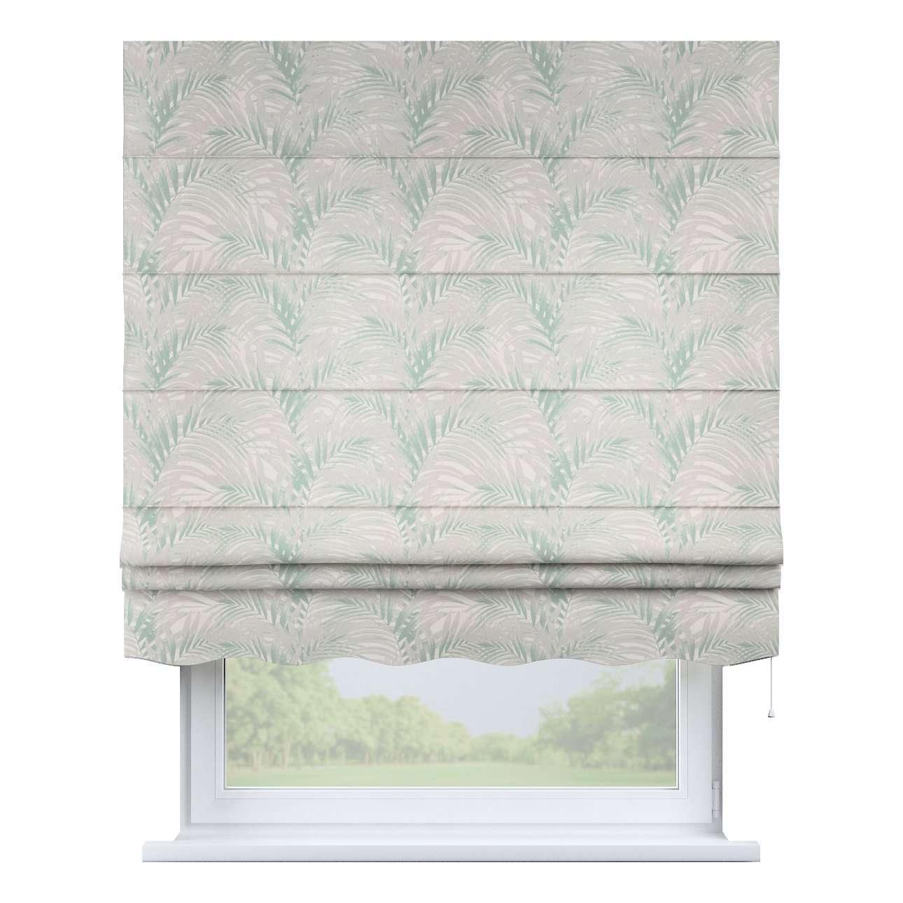 Laskosverho Firenze<br/>Aaltoilevalla helmalla mallistosta Gardenia, Kangas: 142-15