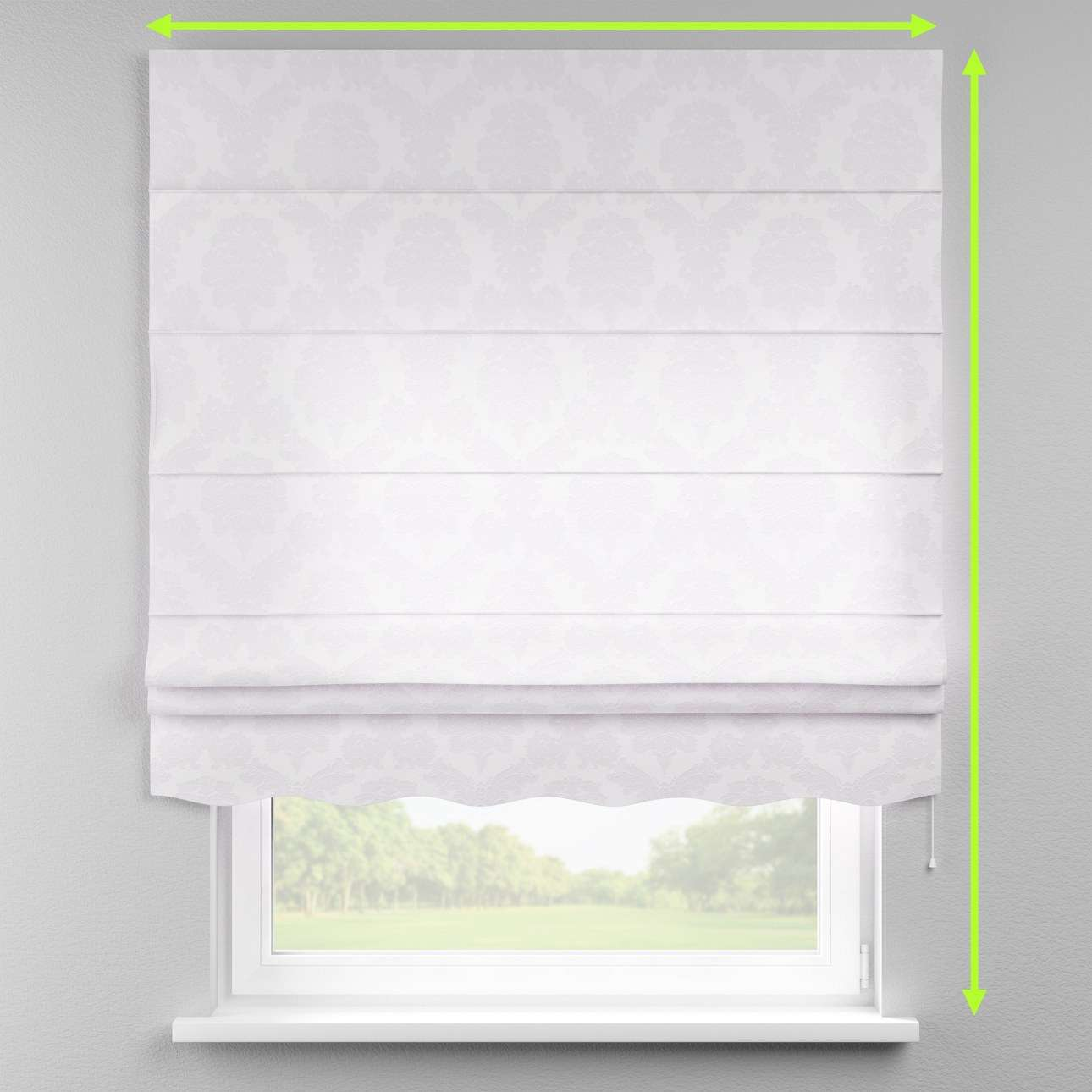 Florence roman blind  in collection Damasco, fabric: 613-00