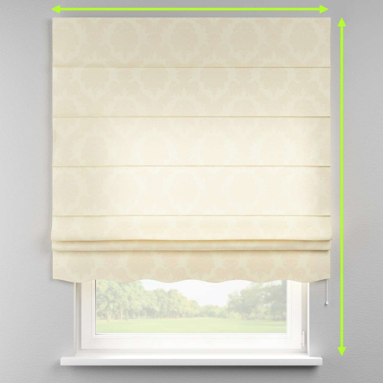 Florence roman blind  in collection Damasco, fabric: 613-01