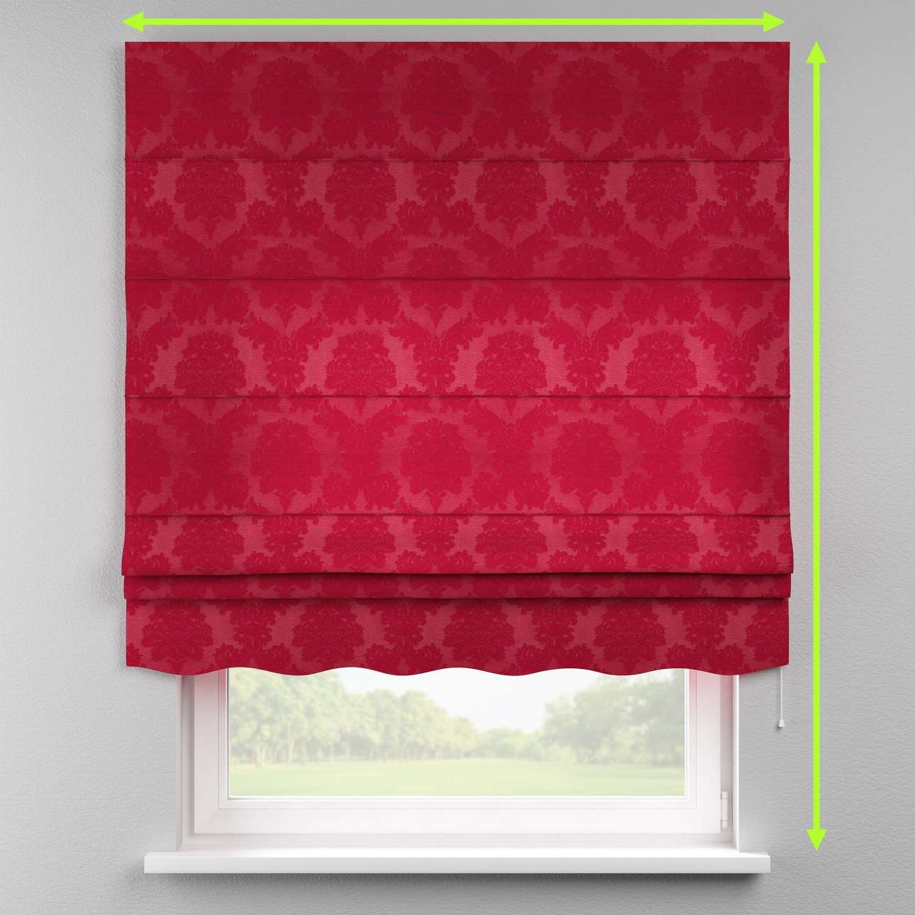 Florence roman blind  in collection Damasco, fabric: 613-13