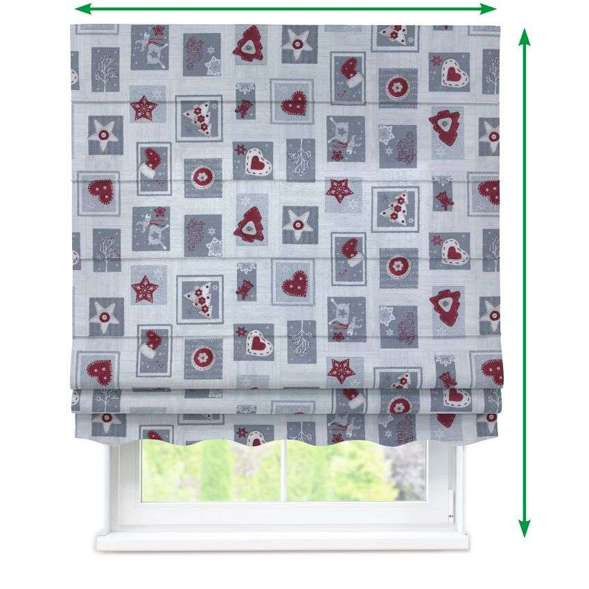 Florence roman blind  in collection Christmas , fabric: 629-23
