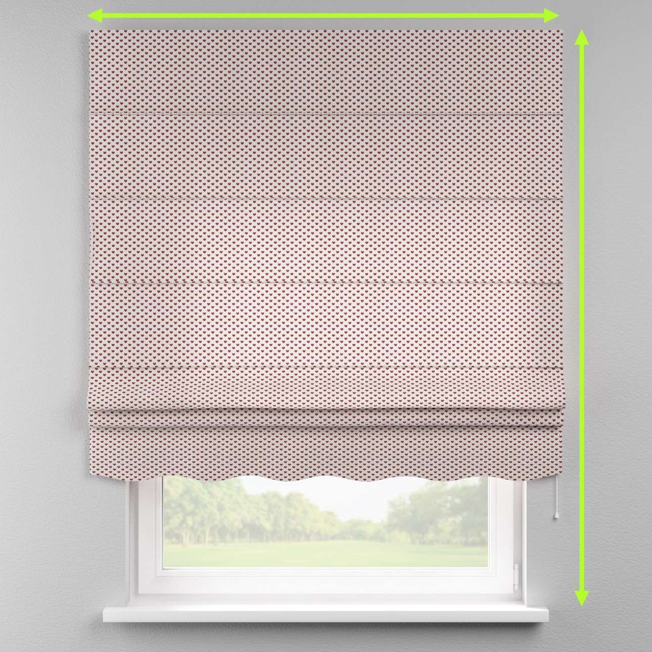 Florence roman blind  in collection Nordic, fabric: 630-04