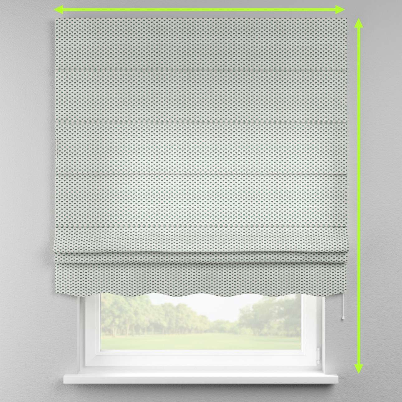 Florence roman blind  in collection Nordic, fabric: 630-12