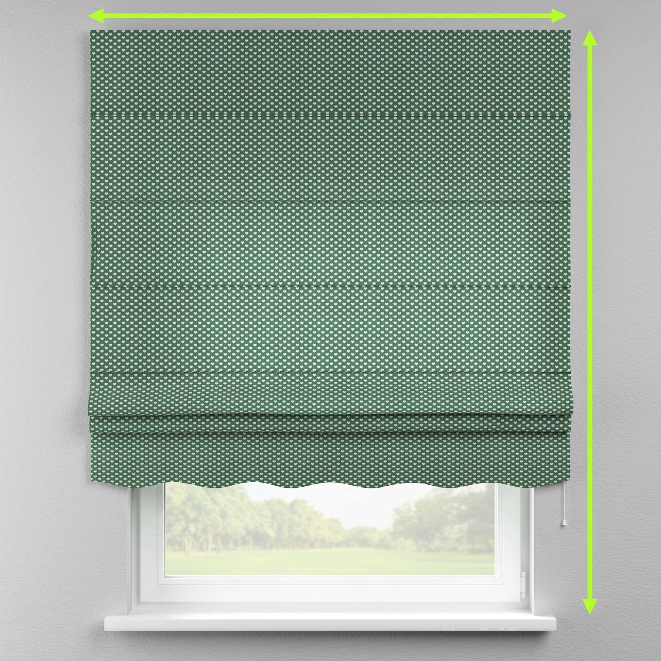 Florence roman blind  in collection Nordic, fabric: 630-21