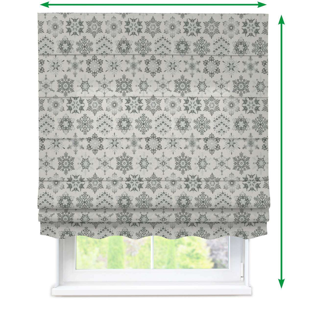 Florence roman blind  in collection Christmas , fabric: 630-29