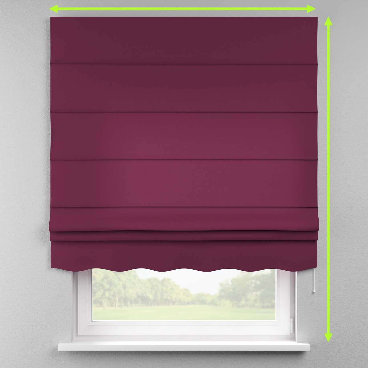 Florence roman blind  in collection Cotton Panama, fabric: 702-05