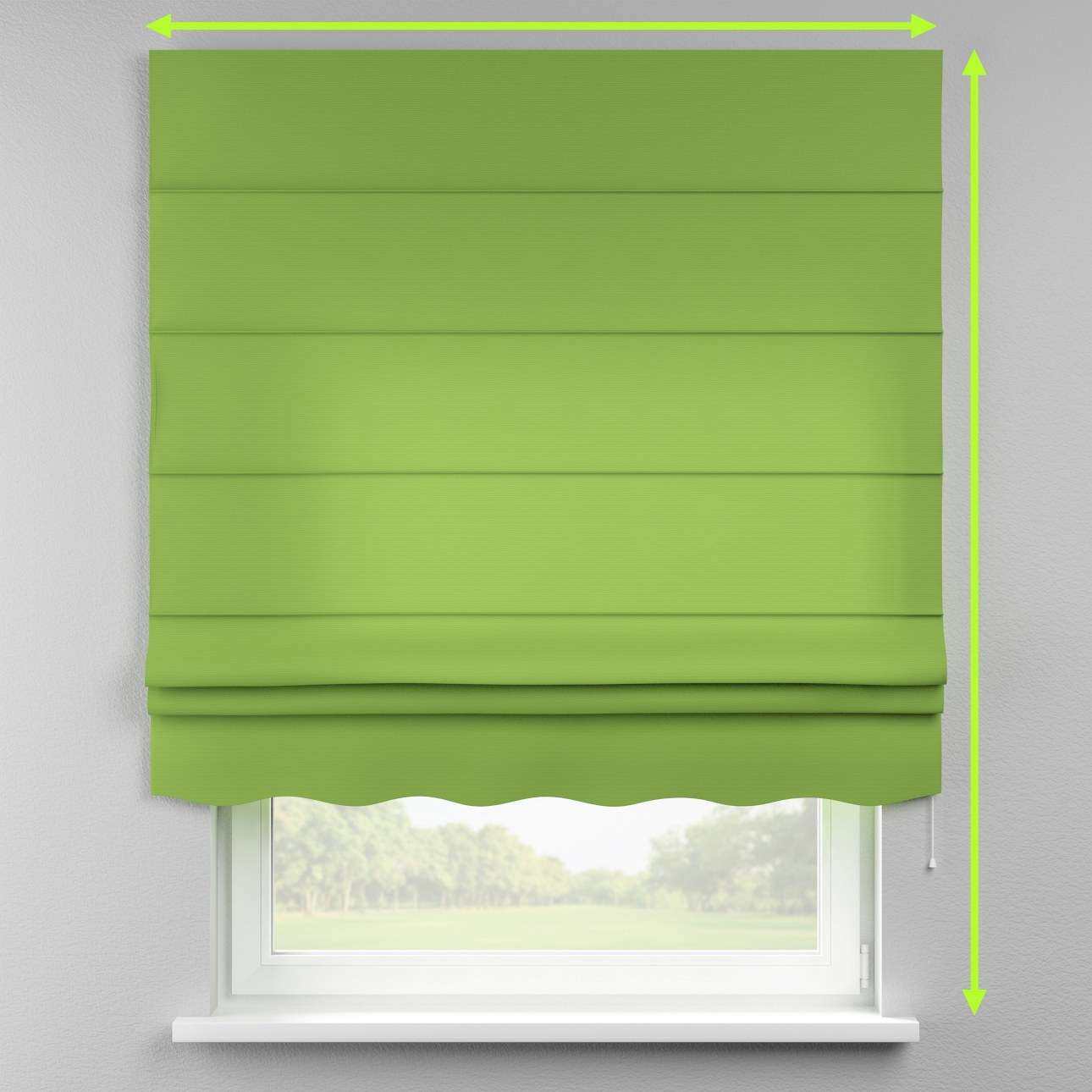 Florence roman blind  in collection Cotton Panama, fabric: 702-27