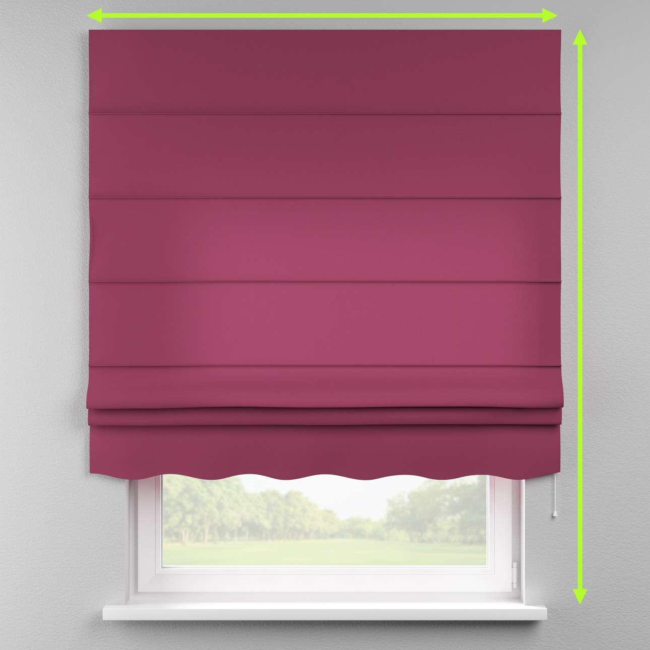 Florence roman blind  in collection Cotton Panama, fabric: 702-32