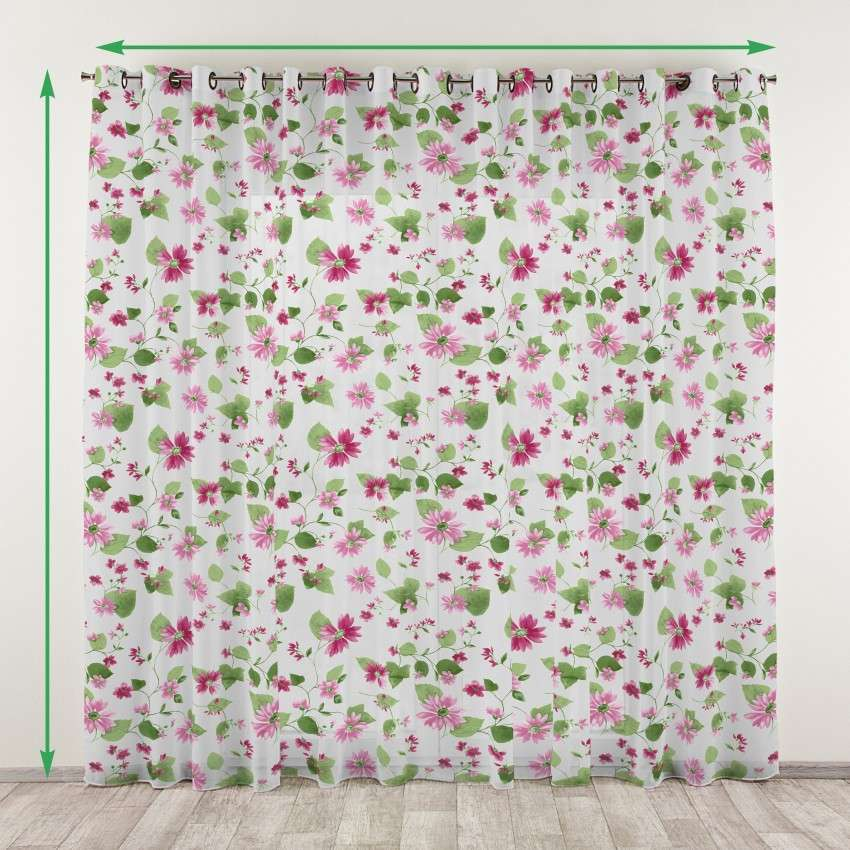 Eyelet net curtains in collection Net Curtains (Firany), fabric: 111-32