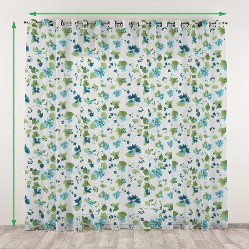 Eyelet net curtains in collection Net Curtains (Firany), fabric: 111-33