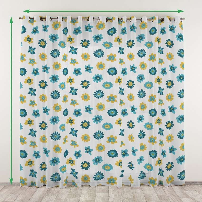 Eyelet voile/net curtains in collection Net Curtains (Firany), fabric: 111-34