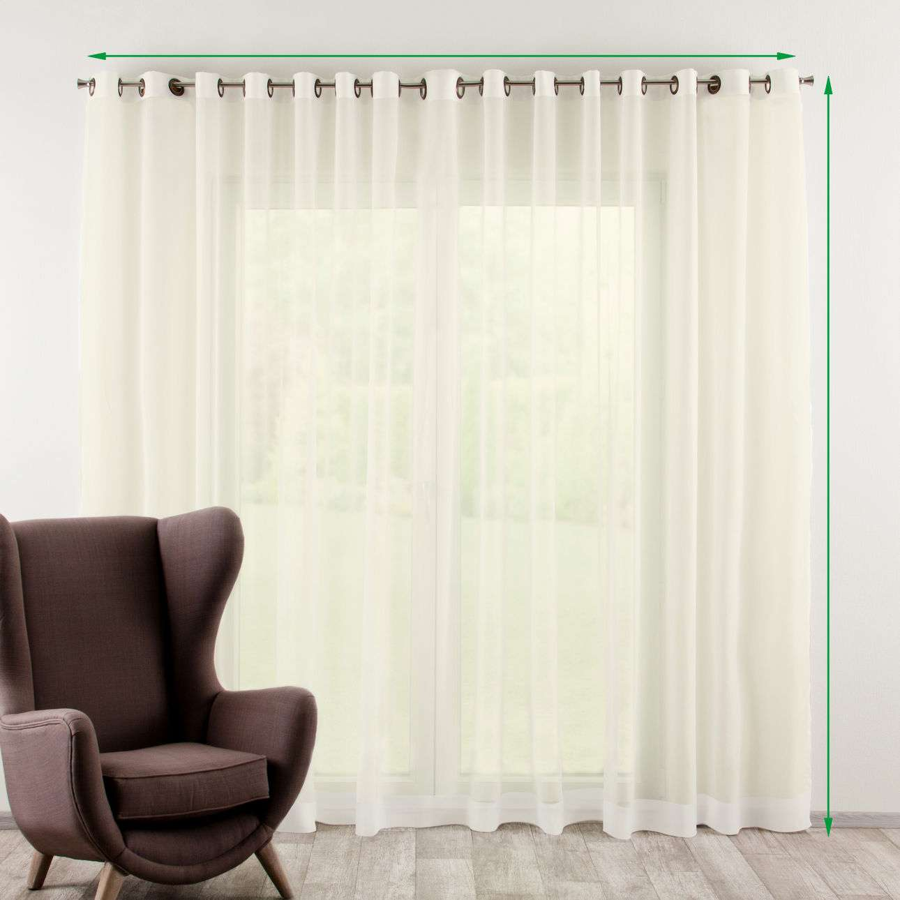 eyelet voilenet curtains in collection voile fabric