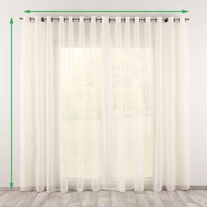 Eyelet net curtains in collection Voile, fabric: 901-01