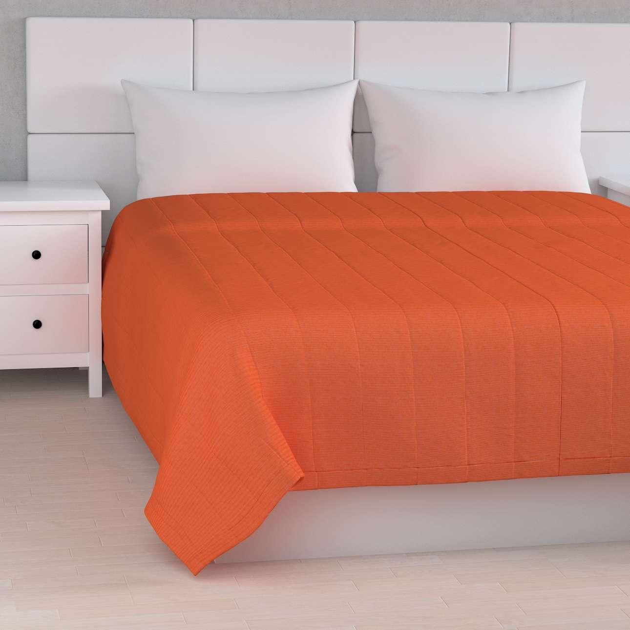 Sengetæppe quiltet<br/>10cm striber fra kollektionen Jupiter, Stof: 127-35