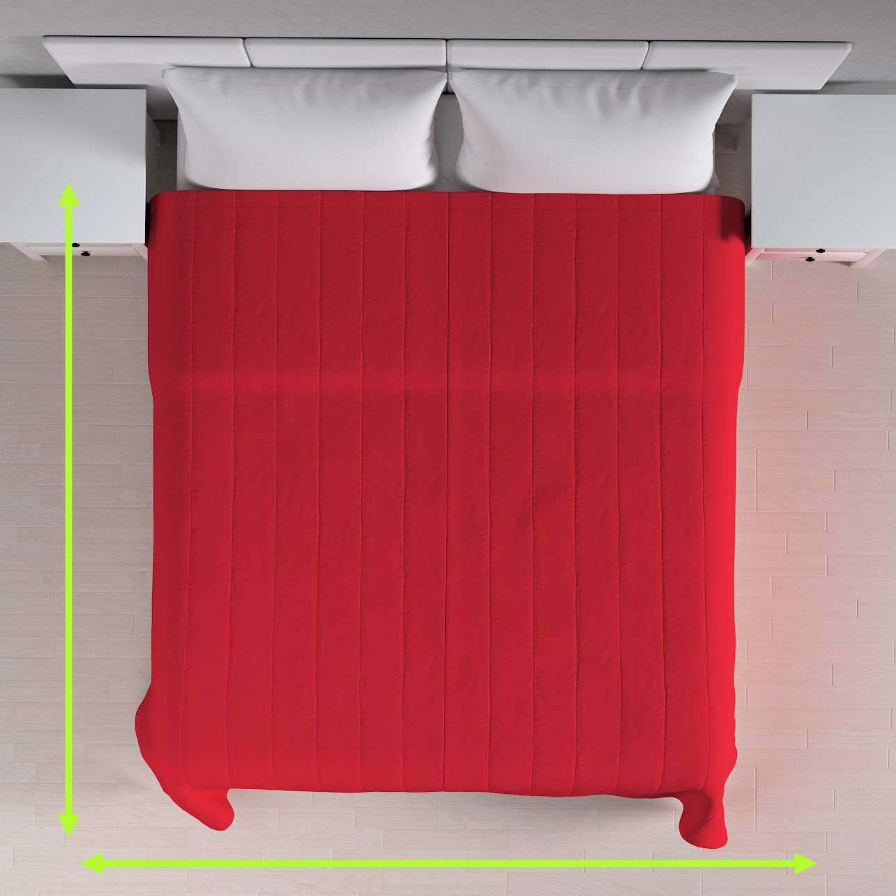 Cuvertura matlasata cu model în colecție Bumbac Panama , țesătură: 702-04