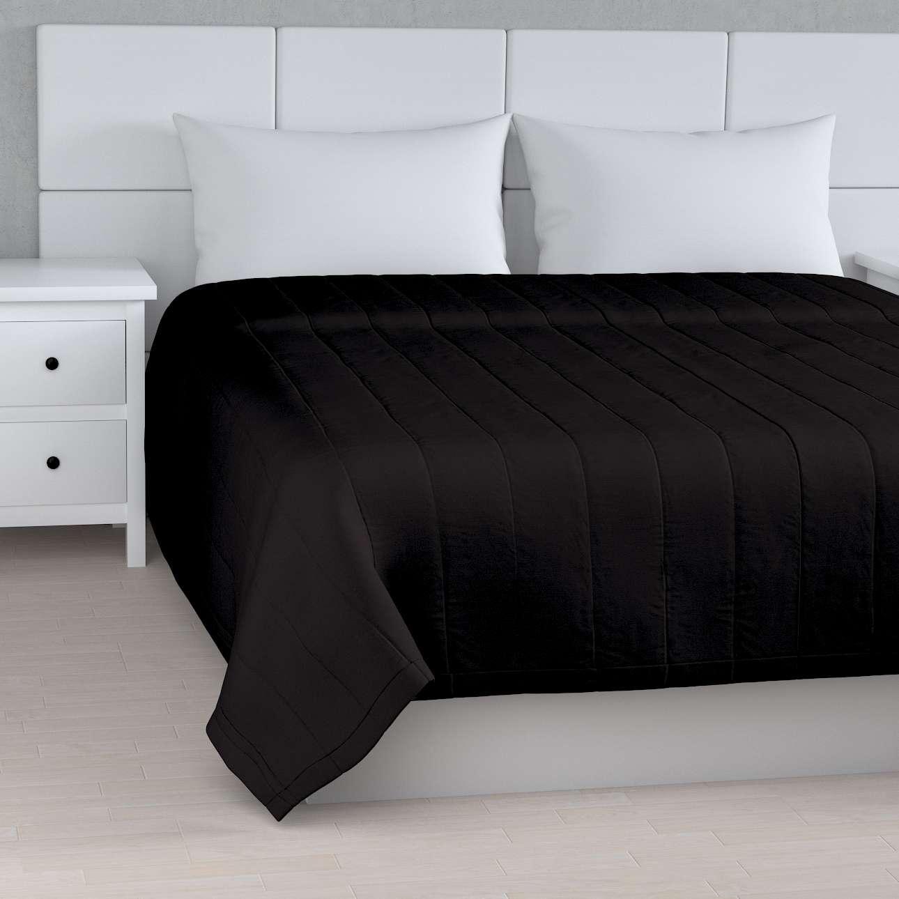 Tagesdecke mit Streifen-Steppung von der Kollektion Cotton Panama, Stoff: 702-09