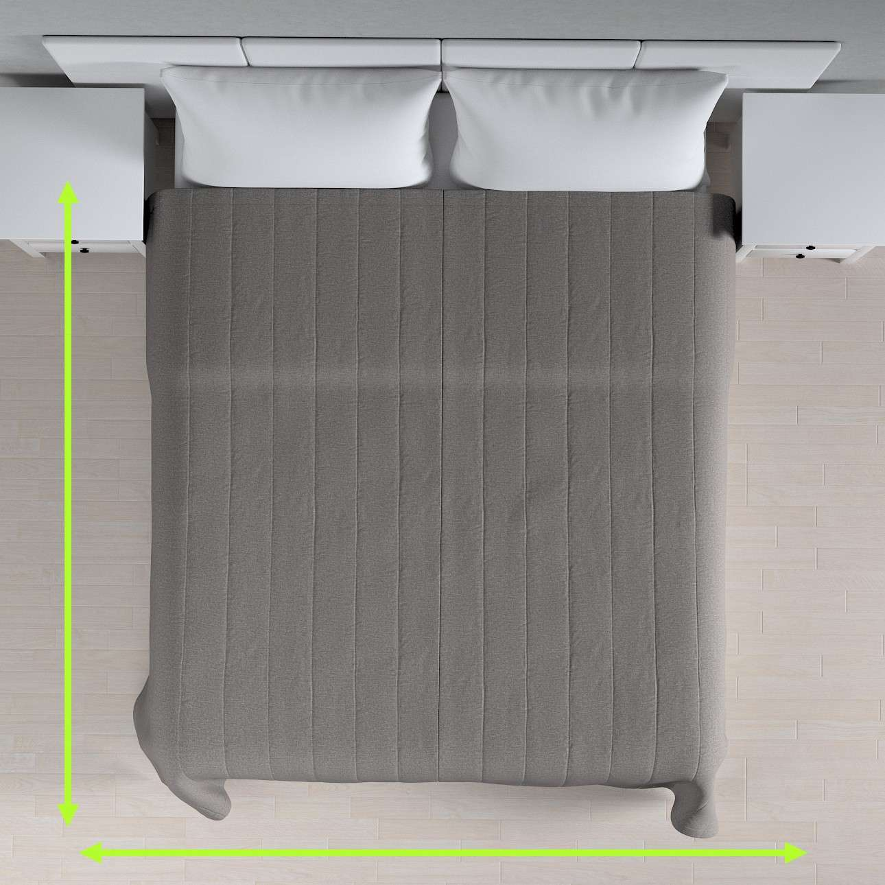 Basic steppelt takaró a kollekcióból Edinburgh Bútorszövet, Dekoranyag: 115-81