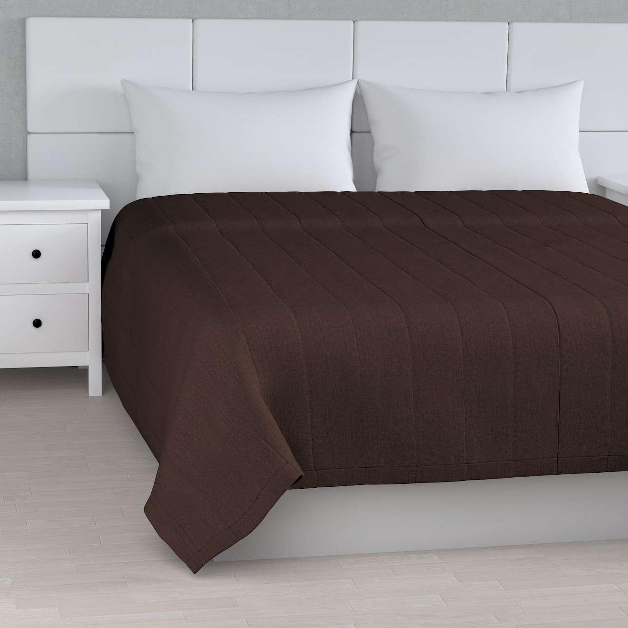 Sengeteppe quiltet<br/>10cm striper fra kolleksjonen Chenille, Stoffets bredde: 702-18