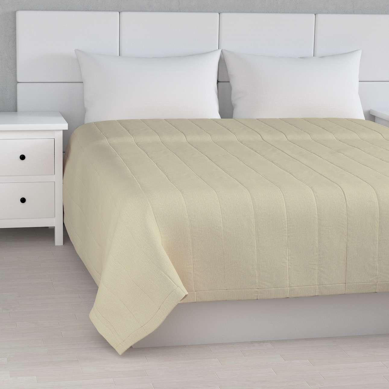 Sengeteppe quiltet<br/>10cm striper fra kolleksjonen Chenille, Stoffets bredde: 702-22