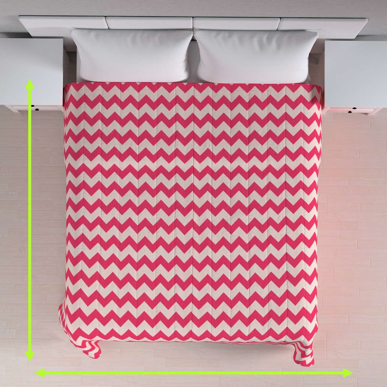 Stripe quilted throw in collection Comics/Geometrical, fabric: 135-00