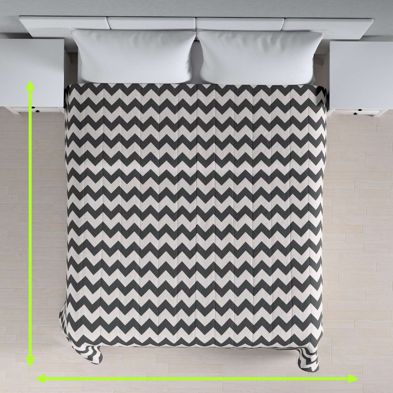 Stripe quilted throw in collection Comics/Geometrical, fabric: 135-02