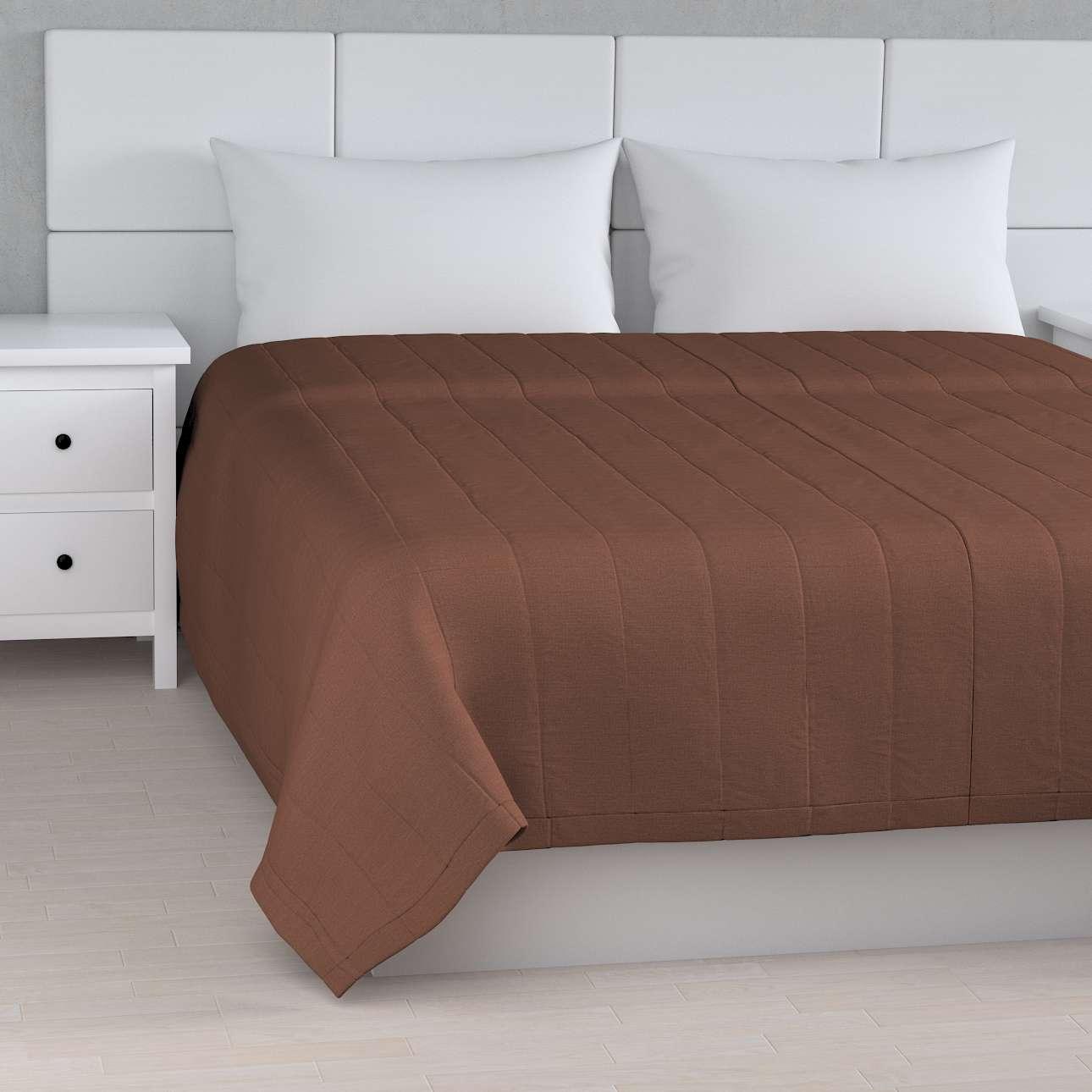 Sengetæppe quiltet<br/>10cm striber fra kollektionen Loneta, Stof: 133-09