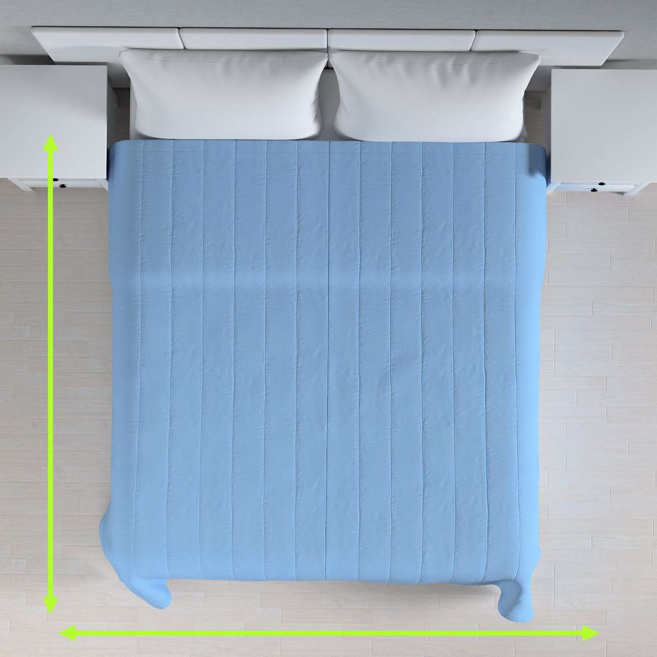 Cuvertura matlasata cu model în colecție Loneta , țesătură: 133-21