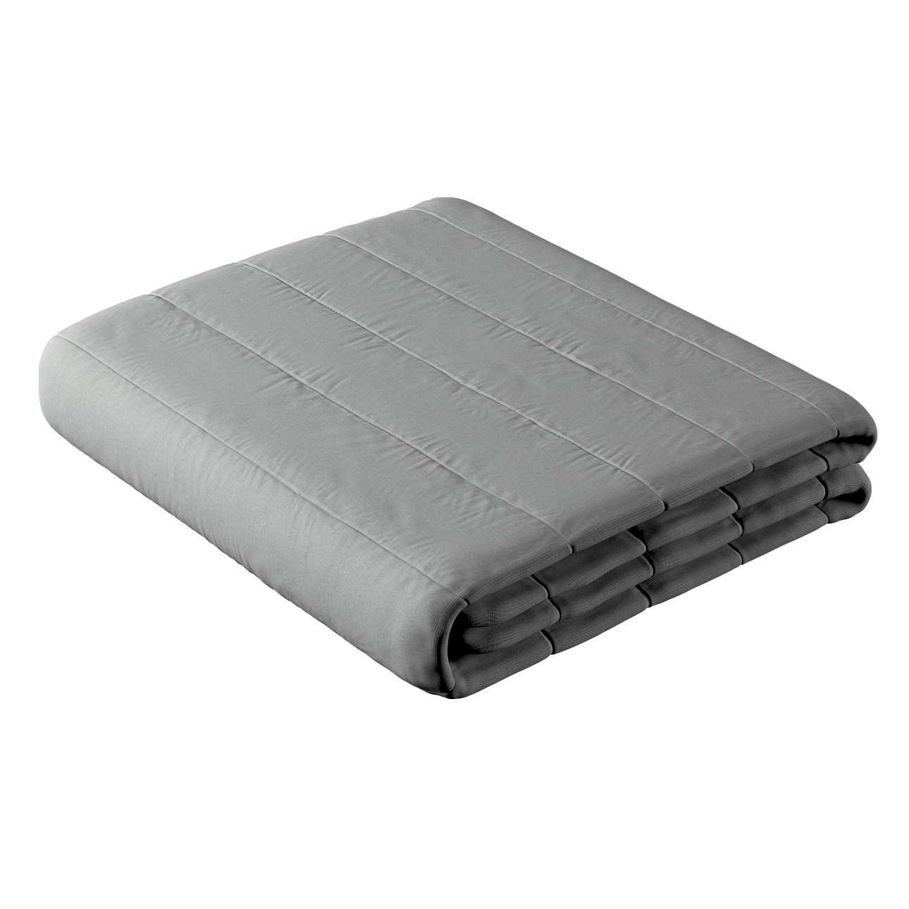 Sengetæppe quiltet<br/>10cm striber fra kollektionen Loneta, Stof: 133-24