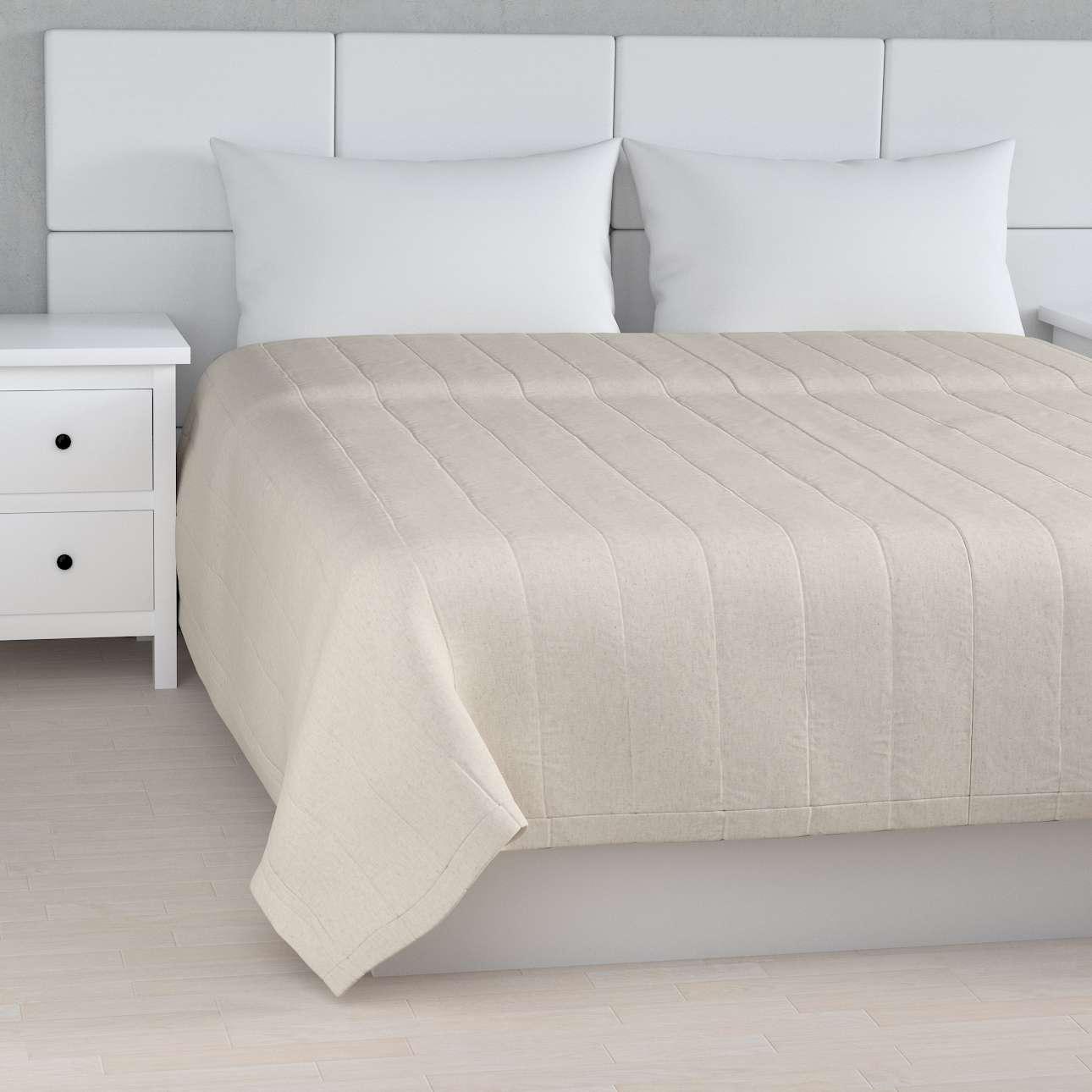 Sengetæppe quiltet<br/>10cm striber fra kollektionen Loneta, Stof: 133-65