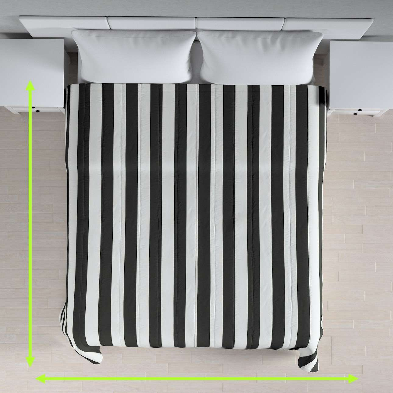 Stripe quilted throw in collection Comics/Geometrical, fabric: 137-53